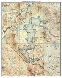 New Mexico Topographic Map by Umbagog Lake 1944 Usgs Topographical Map Custom Composite Printt