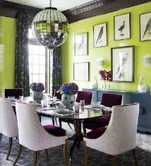 Lime Green Dining Room 70 Best Inspiring Interiors Images On Pinterest Living Spaces