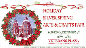 silver spring christmas market and holiday craft show at veterans