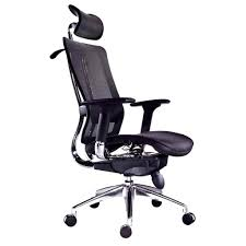 desk chairs office chair footrest attachment sporty gaming for