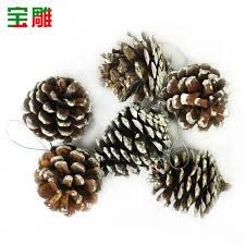 buy christmas decorations christmas pinecone ornaments sticky