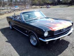 1966 Ford Mustang Black Ford Mustang Convertible 1966 Black For Sale Xfgiven Vin