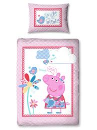 Peppa Pig Toddler Bed Set Your One Will This Gorgeous Junior Peppa Pig Duvet Set