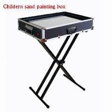 sand art table for sale children practice perform sand painting table sand animation box
