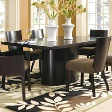 dining room 10 seater dining table contemporary pedestal dining