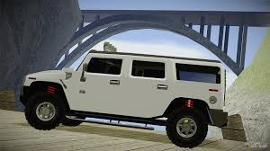 humvee side view hummer h2 tunable for gta san andreas