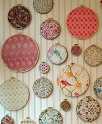 Handmade Fabric Crafts - fabric wall hanging crafts i want to this with you
