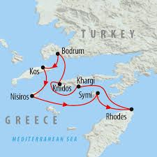 Kos Greece Map by Greece U0026 Turkey Island Hopping In 8 Days On The Go Tours