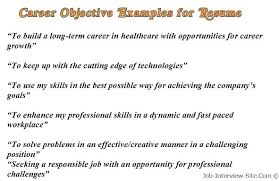 basic resume outline objective how to write objectives in resumes sweet partner info