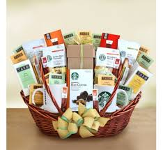 food gift basket print ez launches new selection of starbucks food gift baskets