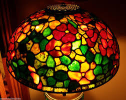 tiffany reproduction stained glass lamp shade 16