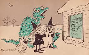 vintage witch illustration vintage kids u0027 books my kid loves the witch u0027s christmas