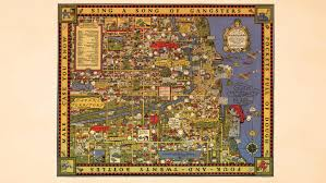 Gangs Chicago Map by Gangland Style 1843