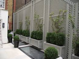 trellis planter white trellis planter garden screen