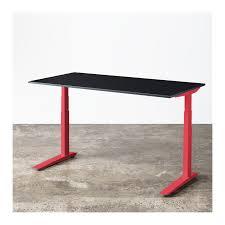 Workfit D Sit Stand Desk by Jarvis Red Adjustable Standing Desk Ergo Depot Ergo Depot