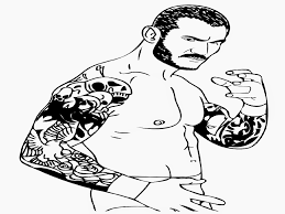 randy orton coloring pages randy orton coloring page free