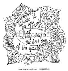 coloring page quotes coloring page motivational quote coloring adult stock vector 2018