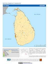Bay Of Bengal Map Maps Settlement Points V1 Sedac