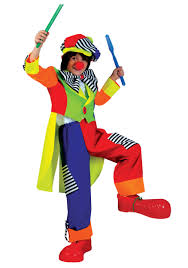 child spanky stripes clown costume halloween costumes