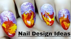 nail design ideas and simple nail art for beginners youtube