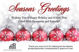 happy holidays and thank you nashville real estate
