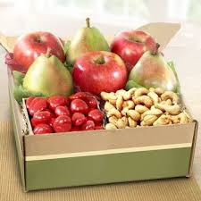 fresh fruit delivery monthly fruit and nut gift box see more at www giftbasketpros
