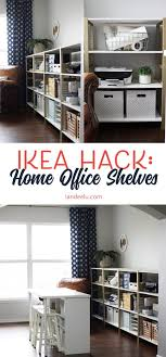 ikea hack office ikea hack ivar home office shelves landeelu com