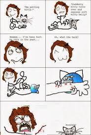 Soft Kitty Meme - derpina meme face comics me petting kitty