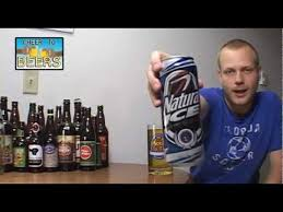 how much alcohol is in natural light beer natural ice beer review 107 youtube