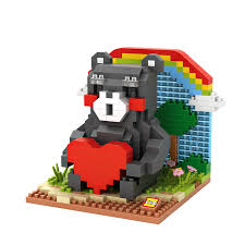 loz diamond blocks loz diamond blocks kumamon 9841 loz blocks nanoblocks