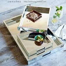 Vanity Trays For Perfume Online Buy Wholesale Mirrored Trays From China Mirrored Trays