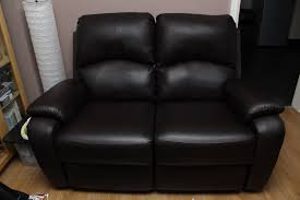Dfs Recliner Sofa by 3 Seater Leather Electric Recliner Sofa G Plan Washington Leather