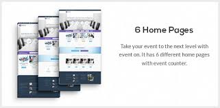 event on responsive html template by innwithemes themeforest