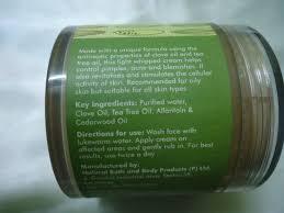 fab india clove acne control cream review new love makeup