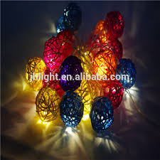 decoration lights for party 20 rattan balls fairy string lights party patio holiday wedding