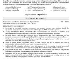 sample healthcare manager resume director of operations resume