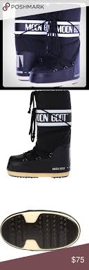 s moon boots size 11 tecnica winter moon boots black size 10 11 nwt ski bunnies