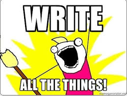 Writing Meme - amazing all the things meme generator the roleplay cafe