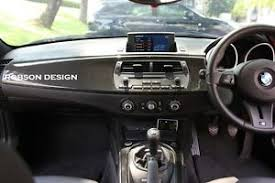 e85 bmw bmw z4 e85 interior panel 5pcs set with carbon ebay