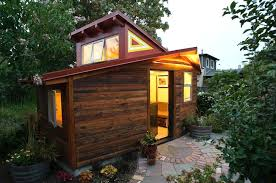 120 sq ft 120 sq ft small studio wrapped in reclaimed redwood chills in
