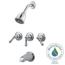trim kits plumbing parts repair the home depot 3 handle tub and shower faucet