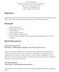 Forklift Driver Resume Examples by 10 Data Entry Resume Templates Free Pdf Samples