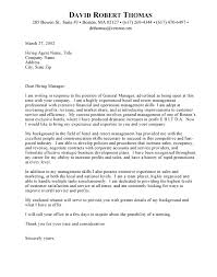 great examples of general cover letters 33 about remodel best
