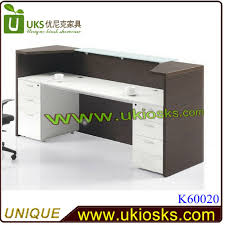 Desk Reception Glossy White Front Office Desk Modern Reception Desk Reception
