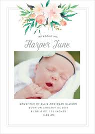 baby announcements birth announcements 40 designs basic invite
