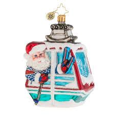 christopher radko ornaments 2016 radko santa on the slopes