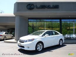 lexus hs 250h premium 2010 lexus hs 250h hybrid premium in starfire white pearl 032964