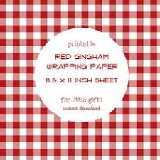 gingham wrapping paper printable pink and white gingham wrapping paper by freshcitrus