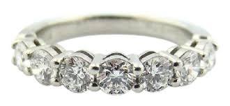 3mm diamond co platinum 56 57 diamond 3mm shared setting wedding
