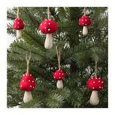 vinter 2017 hanging ornaments set of 6 ikea